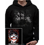 Joker The - Arkham Joker - Unisex Hooded Sweatshirt Black