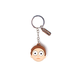 Rick and Morty 3D Rubber Keychain Morty Face