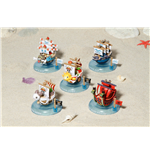 One Piece Yura Series Wobbling Pirate Ship Collection Box 6 cm (6)