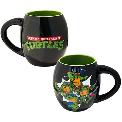 TEENAGE MUTANT NINJA TURTLES TMNT 18oz Oval Mug