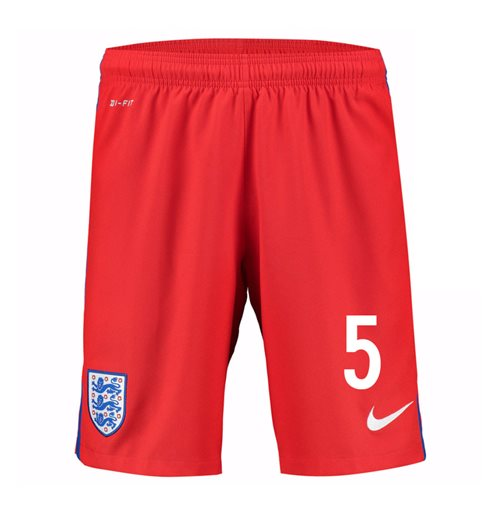 2016-17 England Away Shorts (5) - Kids