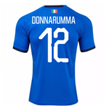 2018-19 Italy Home Shirt (Donnarumma 12) - Kids
