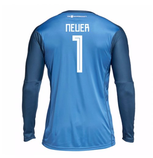 2018-19 Germany Home Goalkeeper Shirt (Neuer 1) - Kids