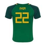 2018-19 Cameroon Home Shirt (Nyom 22) - Kids