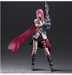 Dissidia Final Fantasy Play Arts Kai Action Figure Lightning 25 cm