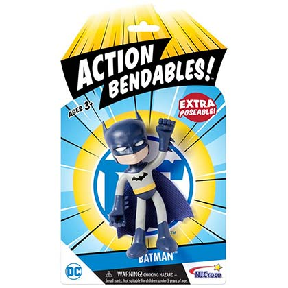 BATMAN Action Bendable Comic Toy Figure