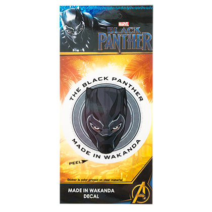 BLACK PANTHER Made In Wakanda 3.5 Inch Sticker