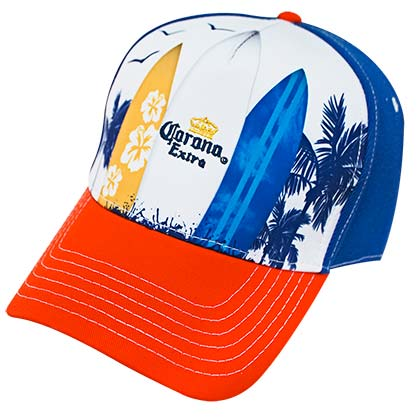 CORONA EXTRA Surfboards Adjustable Men's Hat