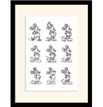 Mickey Mouse Print 296318