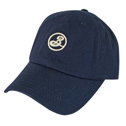 BROOKLYN BREWERY Dark Blue Blue Dad Hat