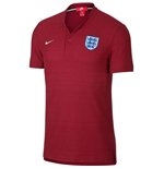 2018-2019 England Nike Authentic Franchise Grand Slam Polo Shirt (Red)