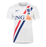 2018-2019 Holland Nike Dry Pre-Match Training Shirt (White)