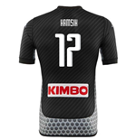 2017-2018 Napoli Kappa 4th Shirt (Hamsik 17)