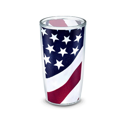 Tervis American Flag Plastic Pint Glass