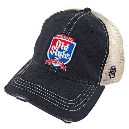 OLD STYLE Shield Retro Brand Men's Trucker Hat