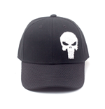 MARVEL COMICS The Punisher Varsity Adjustable Cap, Black
