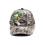 NINTENDO Legend of Zelda Woods Boys Curved Bill Cap, Multi-colour