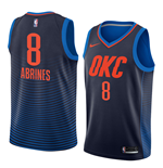 Men's Oklahoma City Thunder Alex Abrines Nike Statement Edition Replica Jersey