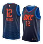 Men's Oklahoma City Thunder Steven Adams Nike Statement Edition Replica Jersey