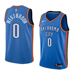 Men's Oklahoma City Thunder Russell Westbrook Nike Icon Edition Replica Jersey