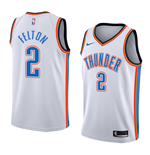 Men's Oklahoma City Thunder Russell Westbrook Nike Association Edition Replica Jersey