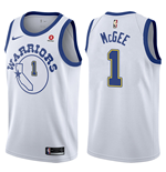 Men's Golden State Warriors JaVale McGee Nike Hardwood Classic Replica Jersey