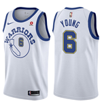 Men's Golden State Warriors Nick Young Nike Hardwood Classic Replica Jersey