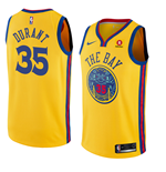 Men's Golden State Warriors Kevin Durant Nike City Edition Replica Jersey