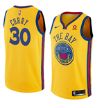 Men's Golden State Warriors Stephen Curry Nike City Edition Replica Jersey