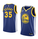 Men's Golden State Warriors Kevin Durant Nike Icon Edition Replica Jersey