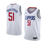 Men's Los Angeles Clippers Boban Marjanovic Nike Association Edition Replica Jersey