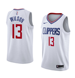Men's Los Angeles Clippers Jamil Wilson Nike Association Edition Replica Jersey