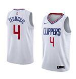Men's Los Angeles Clippers Milos Teodosic Nike Association Edition Replica Jersey