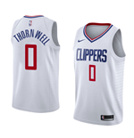 Men's Los Angeles Clippers Sindarius Thornwell Nike Association Edition Replica Jersey