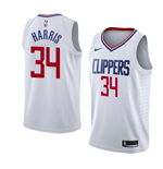Men's Los Angeles Clippers Tobias Harris Nike Association Edition Replica Jersey