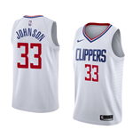 Men's Los Angeles Clippers Wesley Johnson Nike Association Edition Replica Jersey