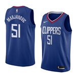 Men's Los Angeles Clippers Boban Marjanovic Nike Icon Edition Replica Jersey