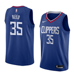 Men's Los Angeles Clippers Willie Reed Nike Icon Edition Replica Jersey