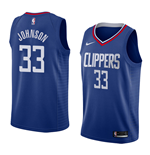 Men's Los Angeles Clippers Wesley Johnson Nike Icon Edition Replica Jersey