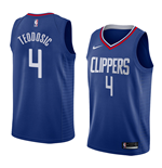 Men's Los Angeles Clippers Milos Teodosic Nike Icon Edition Replica Jersey