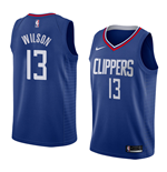 Men's Los Angeles Clippers Jamil Wilson Nike Icon Edition Replica Jersey