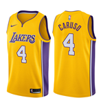 Men's Los Angeles Lakers Alex Caruso Nike Icon Edition Replica Jersey