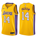Men's Los Angeles Lakers Brandon Ingram Nike Icon Edition Replica Jersey