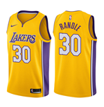 Men's Los Angeles Lakers Julius Randle Nike Icon Edition Replica Jersey