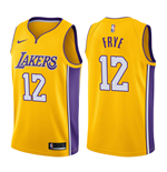 Men's Los Angeles Lakers Channing Frye Nike Icon Edition Replica Jersey