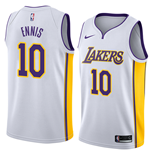 Men's Los Angeles Lakers Tyler Ennis Nike Association Edition Replica Jersey