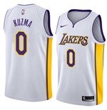 Men's Los Angeles Lakers Kyle Kuzma Nike Association Edition Replica Jersey