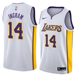 Men's Los Angeles Lakers Brandon Ingram Nike Association Edition Replica Jersey