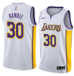 Men's Los Angeles Lakers Julius Randle Nike Association Edition Replica Jersey