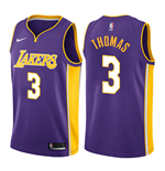 Men's Los Angeles Lakers Isaiah Thomas Nike Statement Edition Replica Jersey